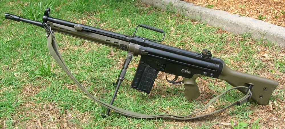 HK G3. Автоматическая винтовка. (Германия)