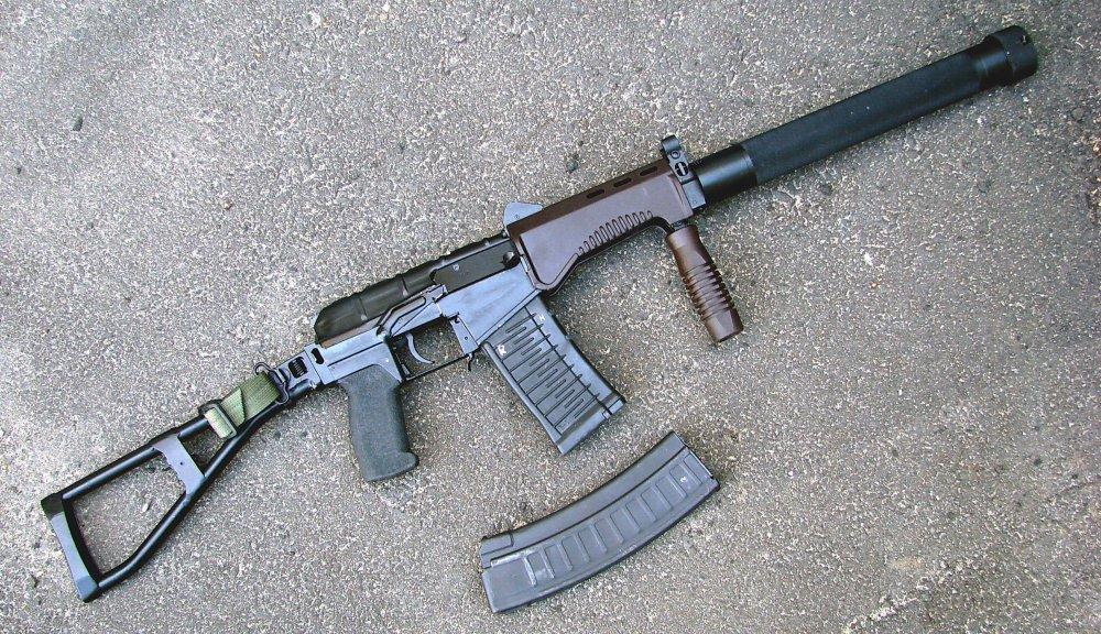 СР-3 «Вихрь». Малогабаритный автомат. (Россия)