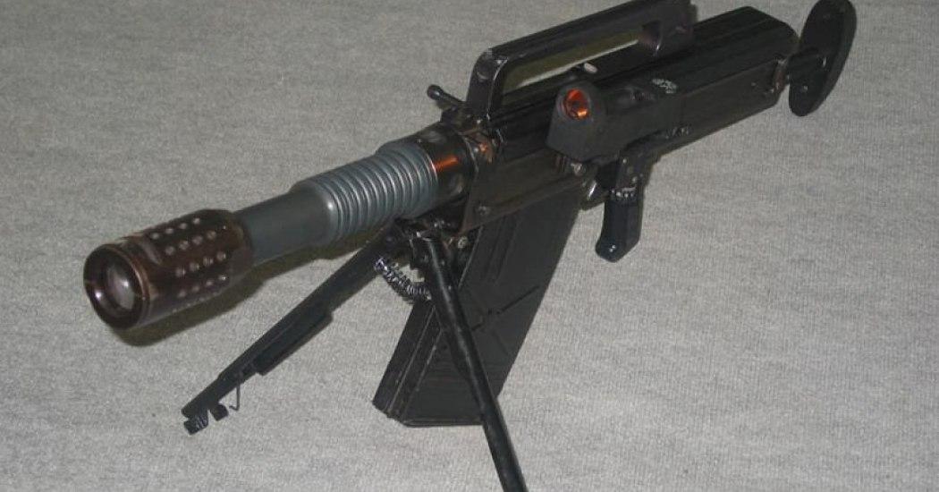 РГ-1 «Поршень». Автоматический гранатомет. (Украина)