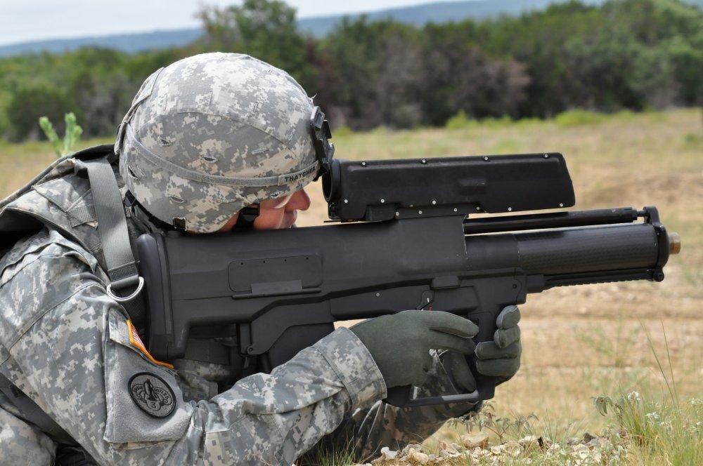 XM25. Ручной гранатомет. (США-Германия)