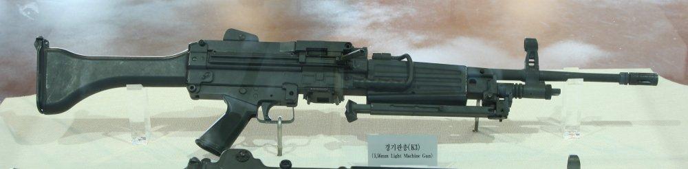 Daewoo K3. Ручной пулемет. (Южная Корея)