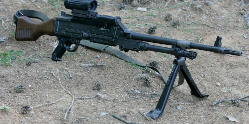 FN MAG. Единый пулемет. (Бельгия)
