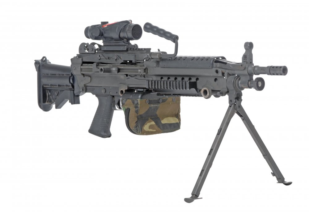 M249 SAW. Ручной пулемет. (США)