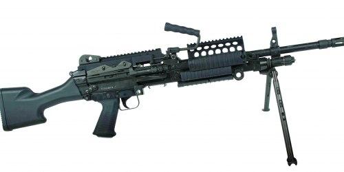 Mk 48. Ручной пулемет. (Бельгия)