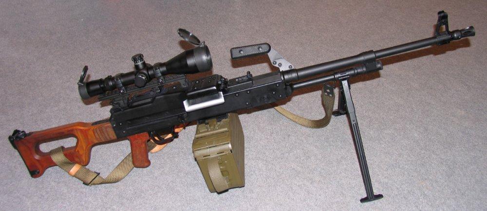 UKM-2000. Единый пулемет. (Польша)