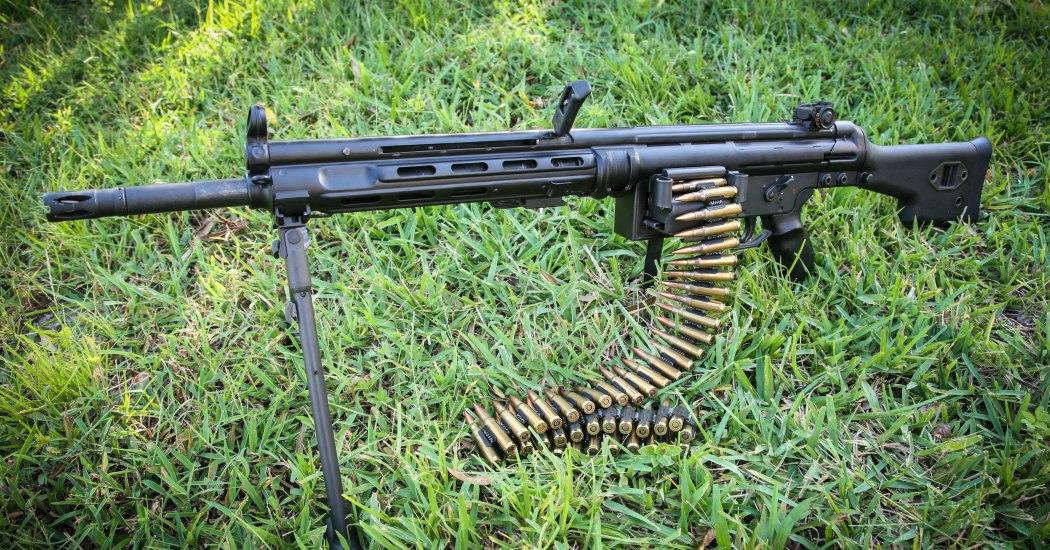 HK21/HK23. Единый пулемёт. (Германия)