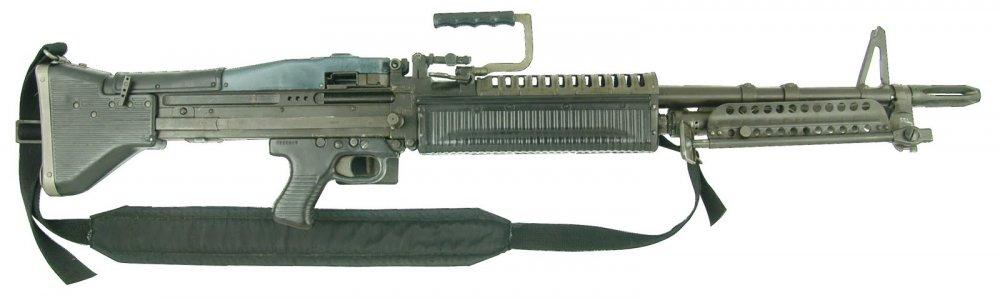 M60. Единый пулемет. (США)