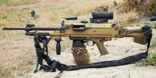 HK MG5. Единый пулемет. (Германия)