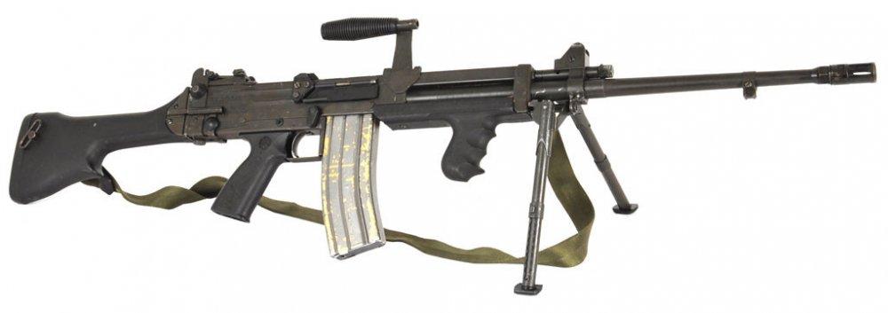 Ultimax 100. Ручной пулемет. (Сингапур)