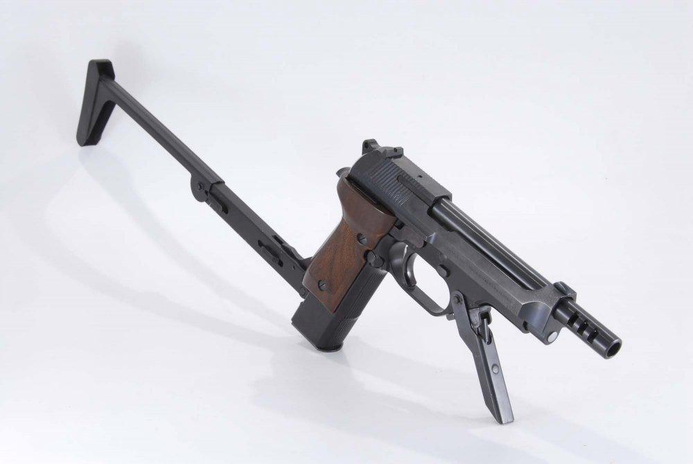 Beretta 93R (Raffica). Автоматический пистолет. (Италия)