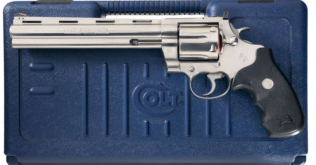 Colt Anaconda. Крупнокалиберный револьвер. (США)