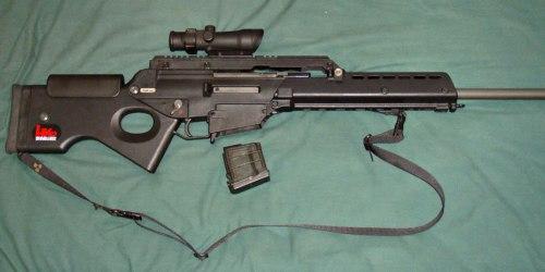 HK SL 8. Самозарядная винтовка. (Германия)