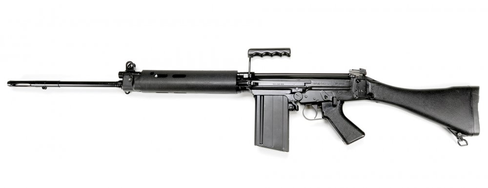 Enfield L1A1. Самозарядная винтовка. (Англия)