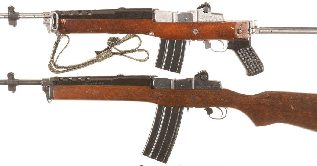 Ruger Mini-14. Самозарядный карабин. (США)