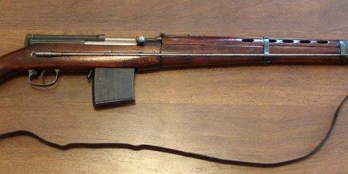 СВТ-38. Самозарядная винтовка. (СССР)