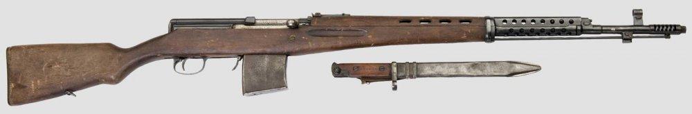 СВТ-40. Самозарядная винтовка. (СССР)