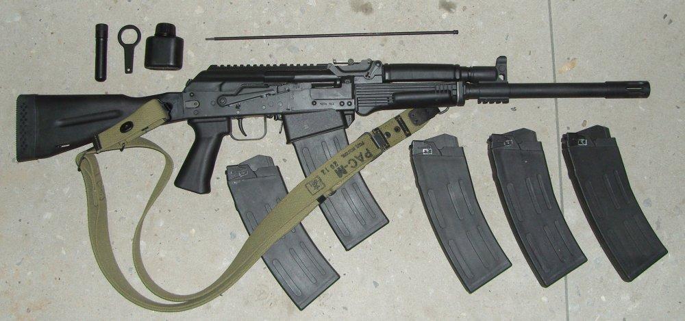 Сайга-12. Самозарядное ружье. (Россия)