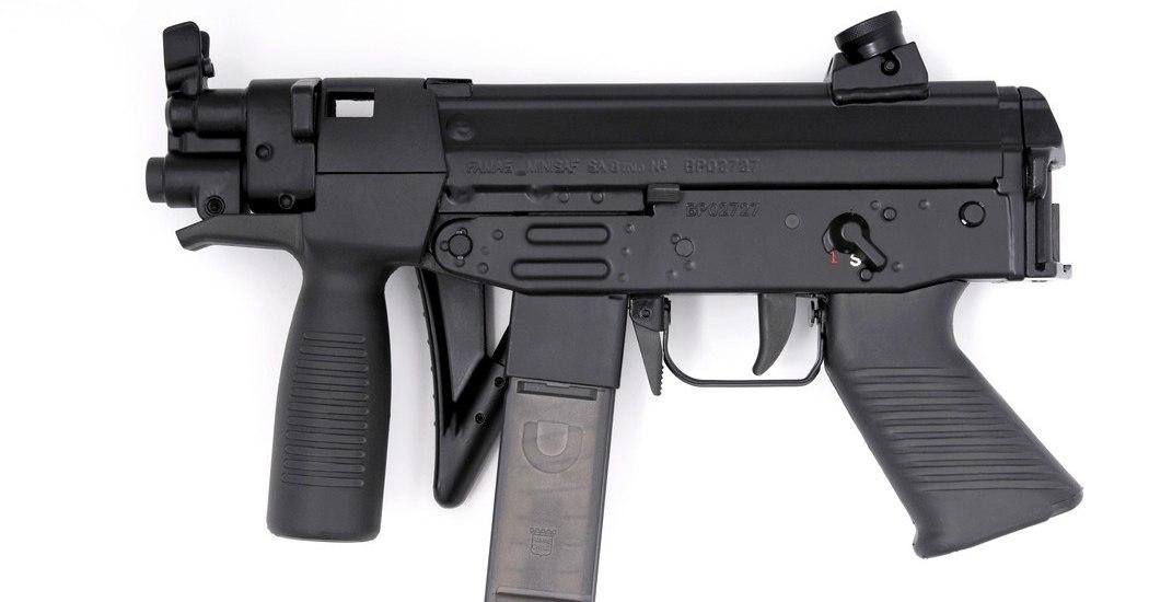 FAMAE SAF. Пистолет-пулемет. (Чили)