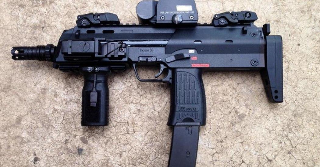 HK MP7A1. Пистолет-пулемет. (Германия)