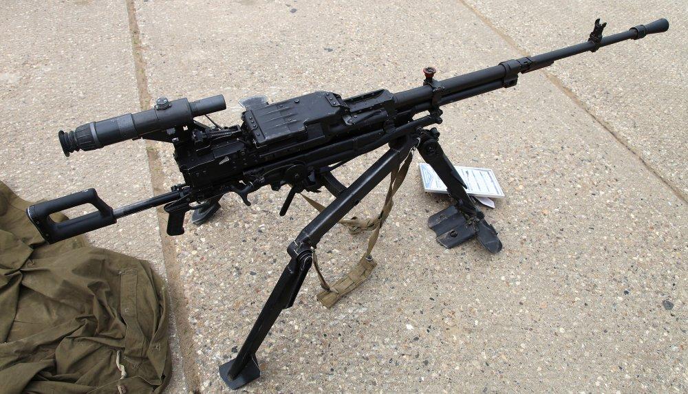 НСВ-12,7 «Утес». Крупнокалиберный пулемет. (СССР)