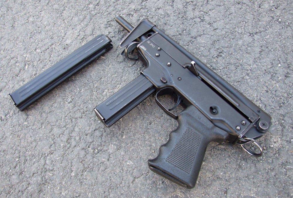 "ПП-91 ""Кедр"". Пистолет-пулемет. (Россия)"
