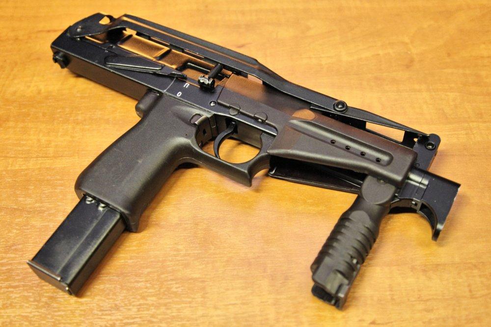 """СР-2 """"Вереск"""". Пистолет-пулемет. (Россия)"""
