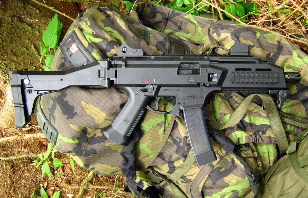 Scorpion EVO 3. Пистолет-пулемет. (Чехия-Словакия)
