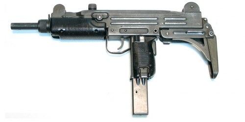 Uzi. Пистолет-пулемет. (Израиль)