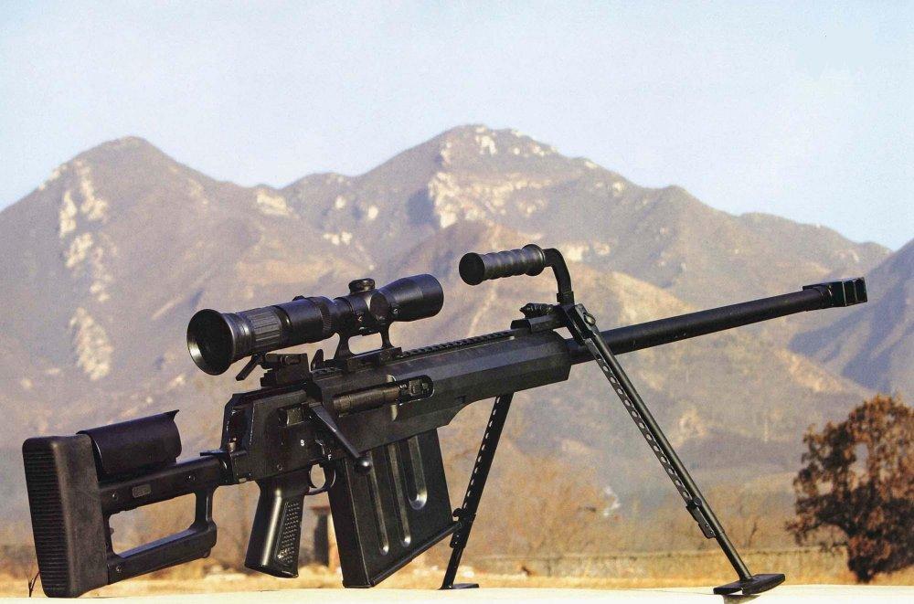 AMR-2. Крупнокалиберная снайперская винтовка. (Китай)