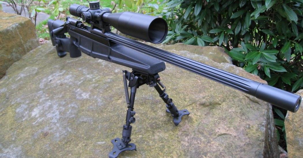 Blaser 93 LRS2. Снайперская винтовка. (Германия)