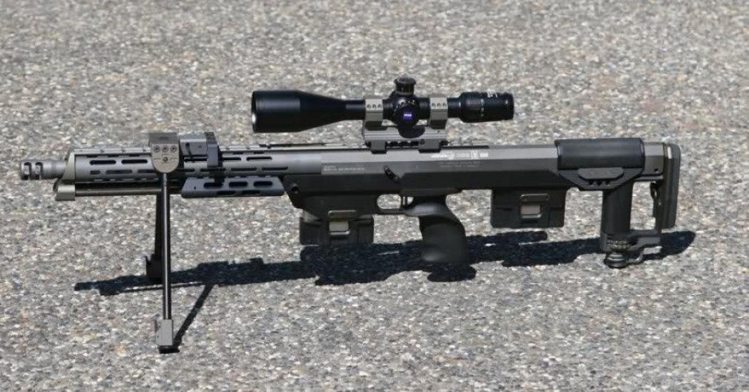 DSR-1. Снайперская винтовка. (Германия)