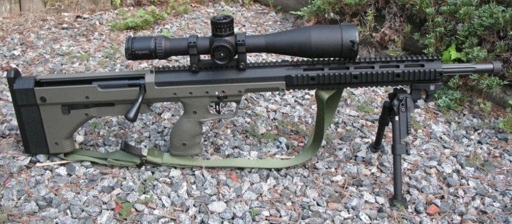 DTA SRS. Снайперская винтовка. (США)