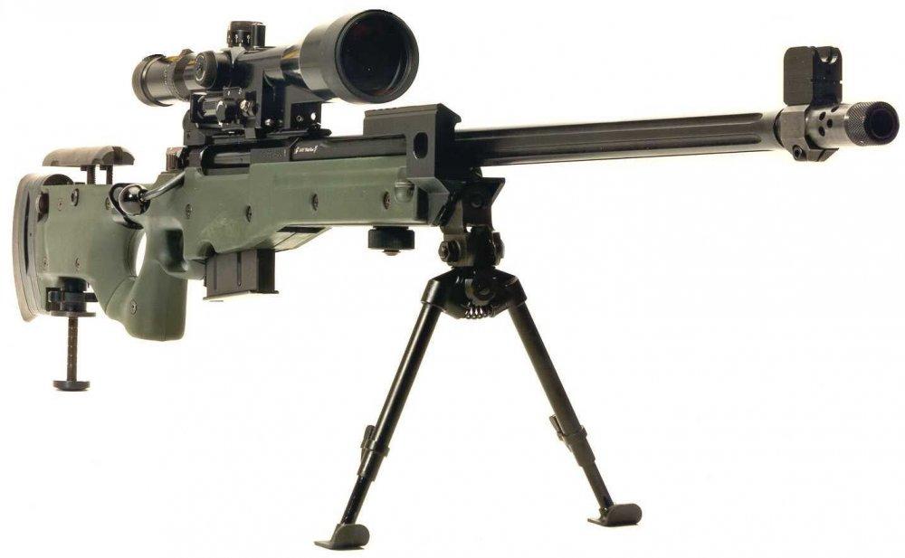 L96A1 (Arctic Warfare). Снайперская винтовка. (Англия)