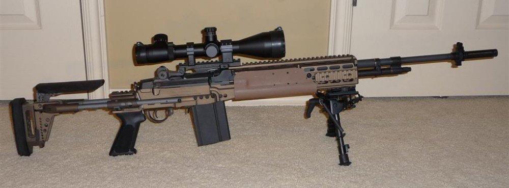 M39 EMR. Cнайперская винтовка. (США)