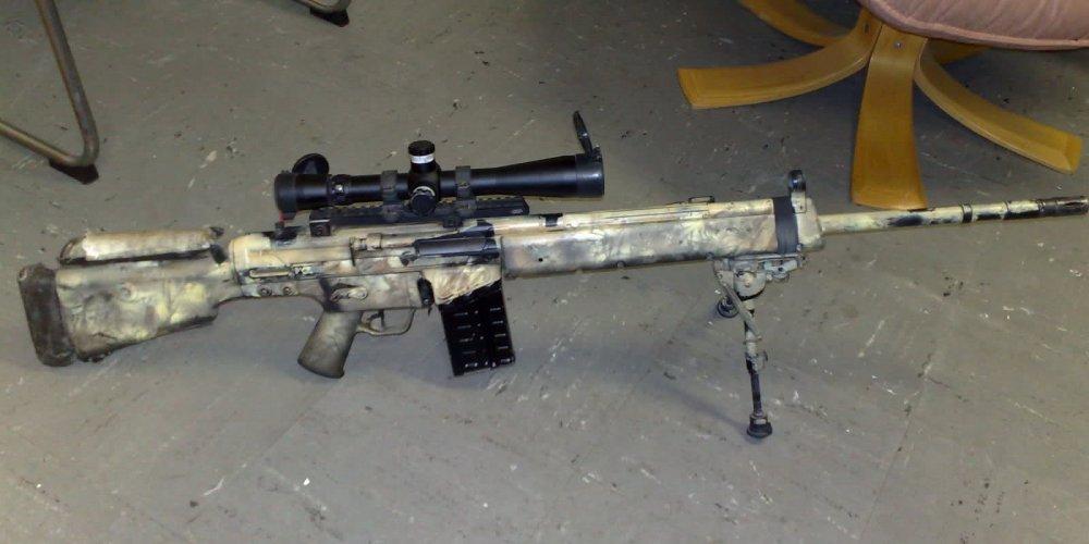 HK MSG90 / HK MSG90A1. Снайперская винтовка. (Германия)