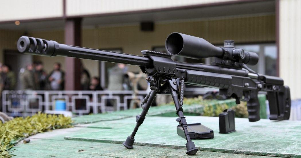 ОРСИС Т-5000. Высокоточная снайперская винтовка. (Россия)