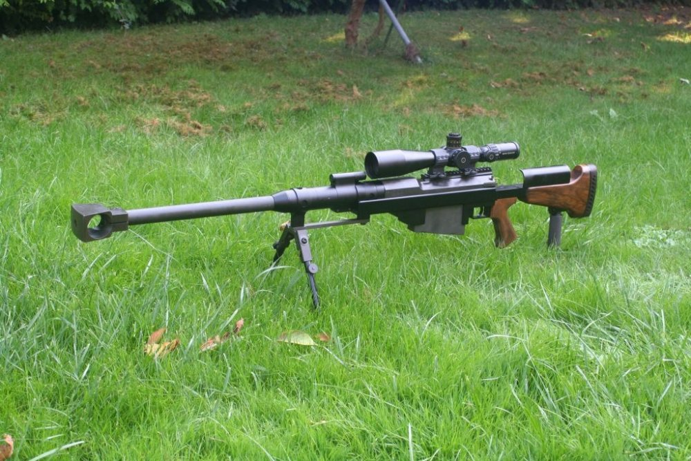 PGM UR Hecate II. Крупнокалиберная снайперская винтовка. (Франция)