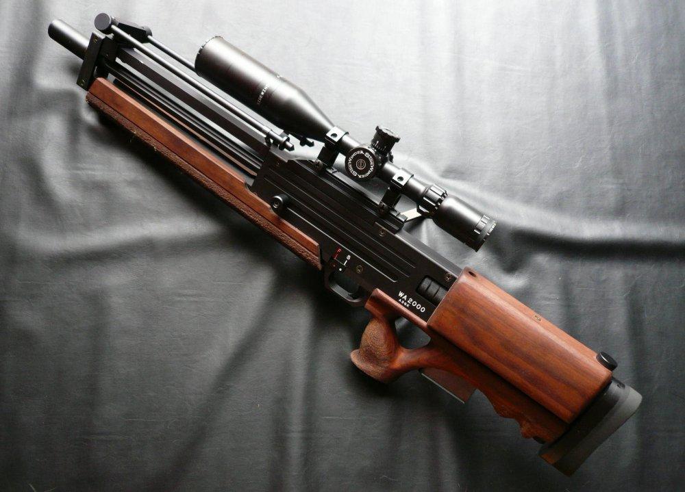 Walther WA 2000. Высокоточная снайперская винтовка. (Германия)