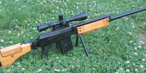 Galatz. Самозарядная снайперская винтовка. (Израиль)