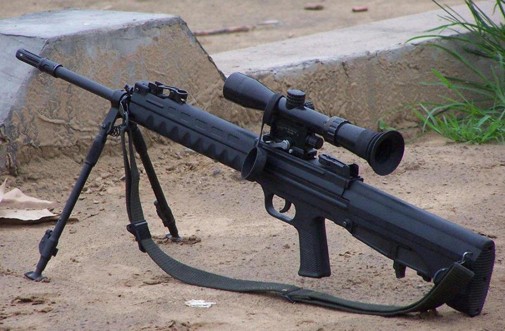 QBU-88. Снайперская винтовка. (Китай)