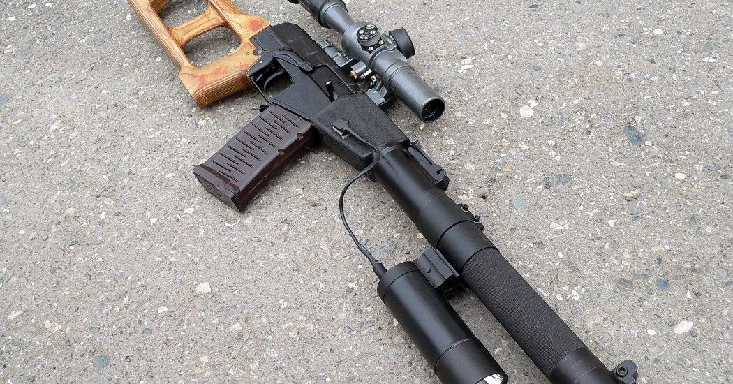 """ВСС """"Винторез"""". Снайперская винтовка. (Россия)"""