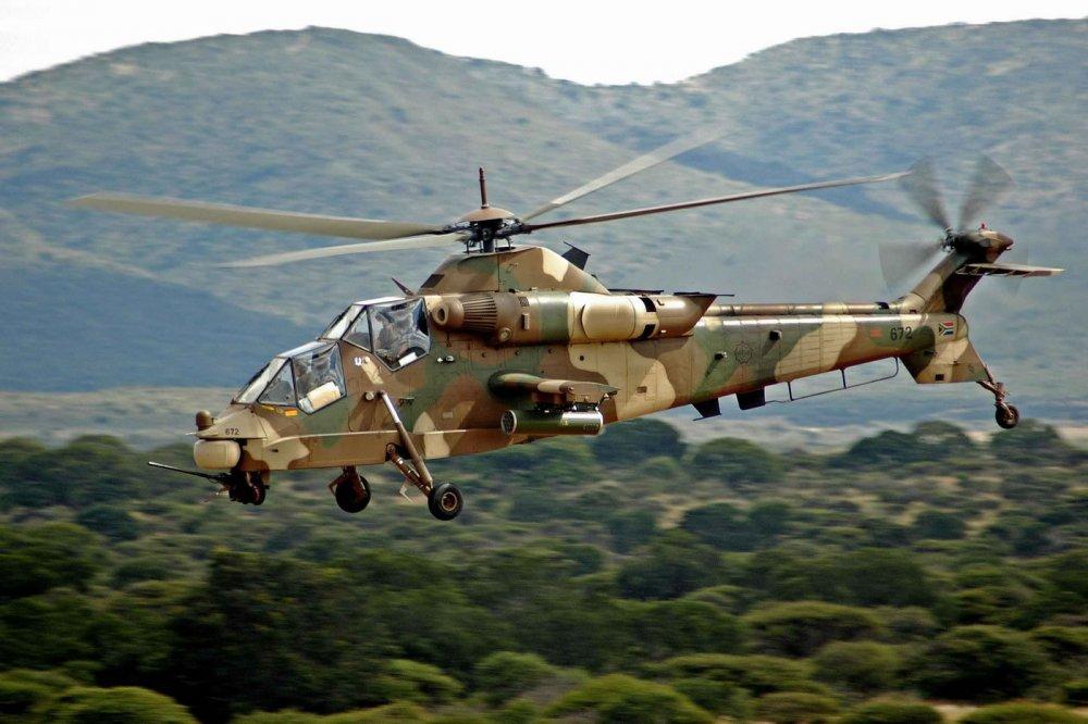 Denel AH-2 Rooivalk. Ударный вертолет. (ЮАР)