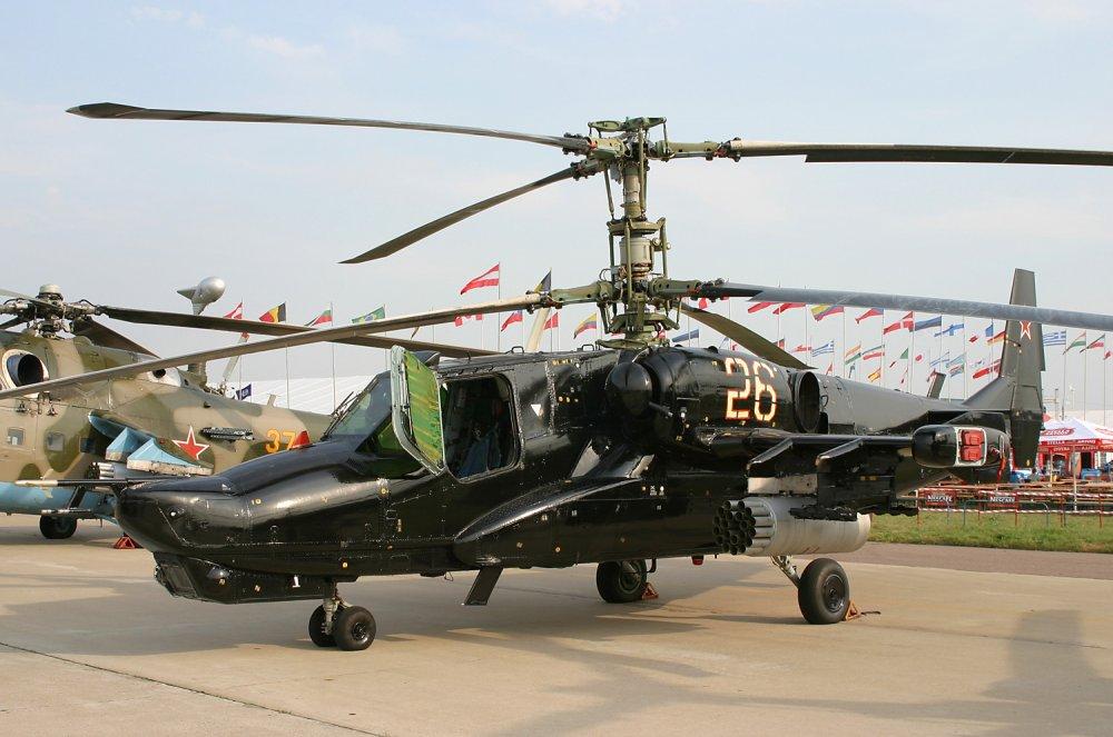 Ка-50 «Черная акула». Ударный вертолет. (СССР-Россия)