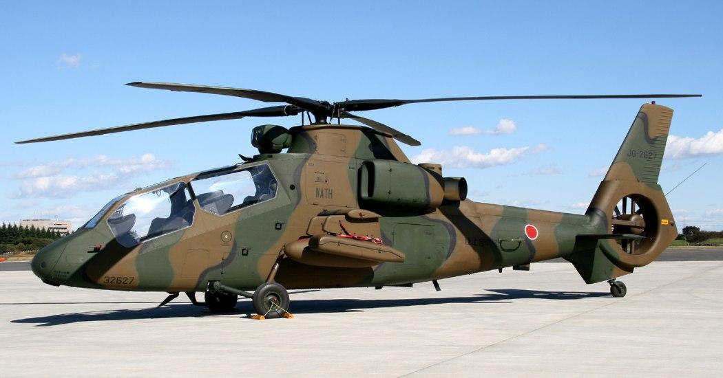 Kawasaki OH-1 Ninja. Разведывательный вертолет. (Япония)