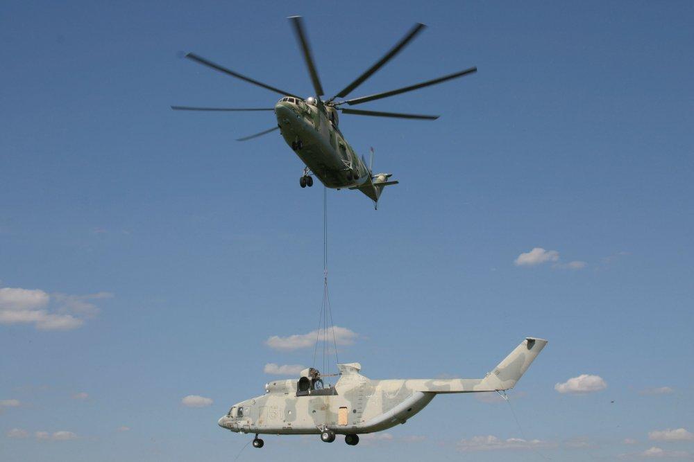 Ми-26. Транспортный вертолет. (СССР-Россия)