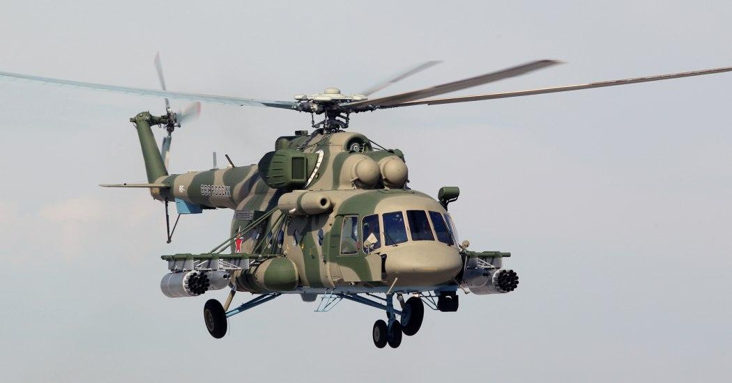 Ми-8. Многоцелевой вертолет. (СССР-Россия)