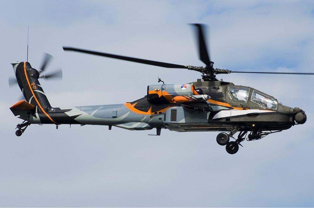 McDonnell Douglas AH-64 Apache. Ударный вертолет. (США)