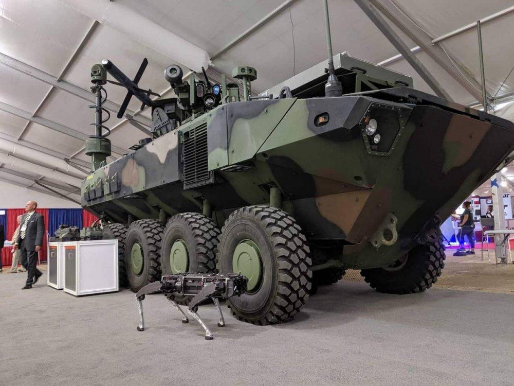 Бронемашина ACV: оснащение противотанковыми ракетами