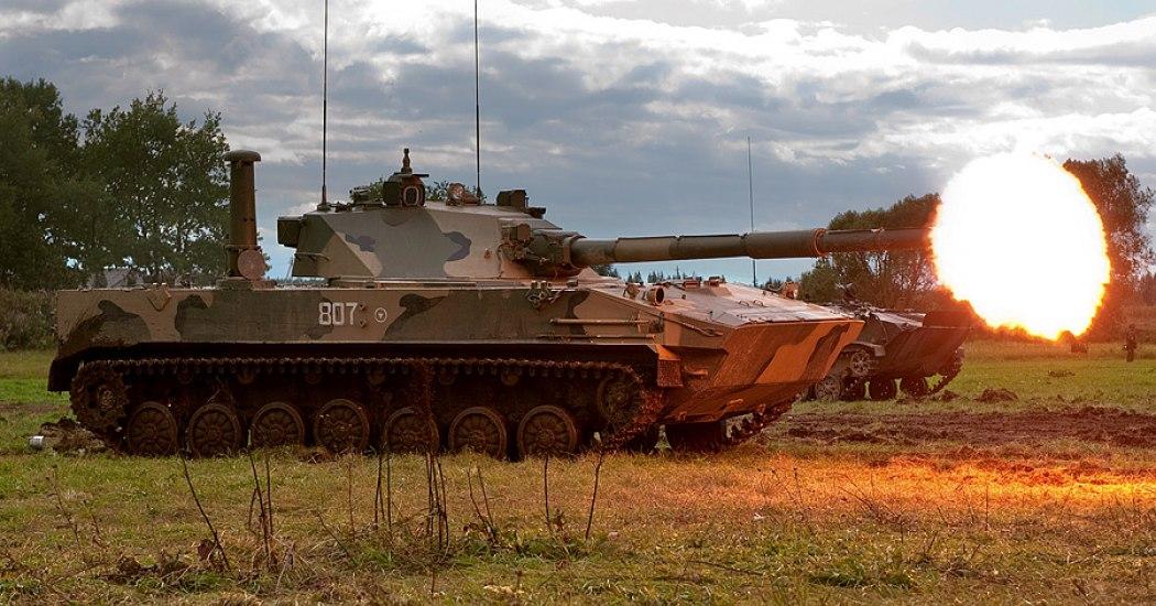 2С25 «Спрут-СД». Самоходная противотанковая пушка. (Россия)
