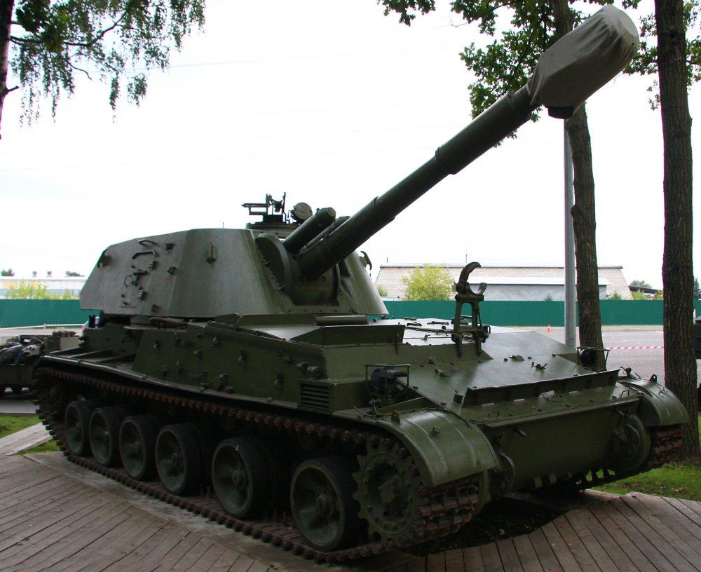 2С3 «Акация». САУ. (СССР-Россия)